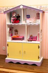 Домик для кукол,  кукольный домик,  Барби,  Монстер Хай,  полка для книг.