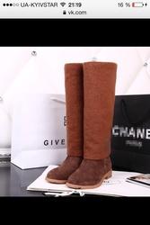 Шикарные сапоги ,  Chanel Срочно!