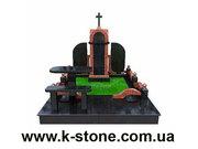 Изготовление памятников из мрамора,  гранита и габбро от производителя