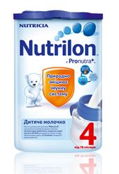 Детское молоко Nutrilon (Нутрилон) 4,  800 г.