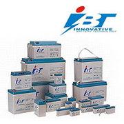 Аккумуляторные батареи гелевые,  IBT TECHNOLOGIES.