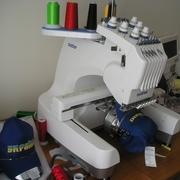 Продам рабочую вышивальную машину Brother PR 600-II