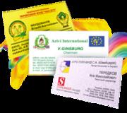изготовим визитки  быстро и недорого Киев