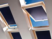 Рулонные шторы,  тканевые роллеты на мансардные окна.