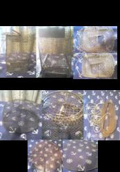 Металлические садки для рыбы - разные,  раколовка - б/у