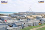 Здания из контейнеров,  вахтовые поселки и строительные городки