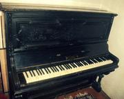 Продам антикварное пианино фабрики К. Гетце 1883 года
