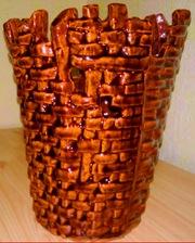 Продам новую керамическую ваза-хлебница-салфетница