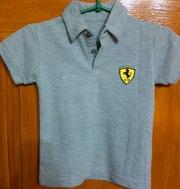 Продам новая футболка поло Ferrari для мальчика 3-5 лет