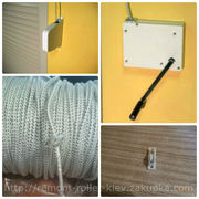 Перетёрся шнур на ролете,  заменить шнур роллетный,  перетёрлась верёвка