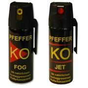 Баллончики газовые PFEFFER KO JET FOG 50  40 мл.Германия.Оптрозница