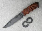 Деревянные рукоятки для ножа из твердых экзотических пород