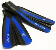 Ласты регулируемые Dolvor F31 (под носок,  боты)