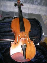 Продам скрипку , немецкая мануфактура, 100 лет, без трещин, для студентов
