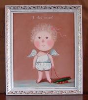 Купить копию картины Евгении Гапчинской #Я твой ангел