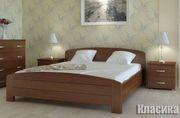 дубовая кровать Классика Лаванда Лиза Мила Орхидея Венеция натуральный