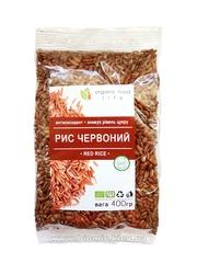 Рис красный цельнозерновой нешлифованный Organic food life 400 грамм