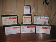 Аккумулятор (в т.ч. гелевый) ТМ Ventura 12В 4-7-9-12 до эхолота,  ИБП (