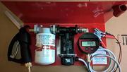 Насос,  миниАЗС (Италия)12 или 24Вольт 50л/мин для перекачки дизтоплива