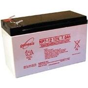 Аккумулятор Genesis 12В 7-9-12Ач для ИБП (в т.ч. замена RBC),  эхолота,