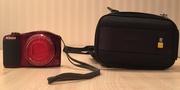 Продам циф.фотоаппарат Nikon Coolpix L610 Red + чехол + флешка на 32GB