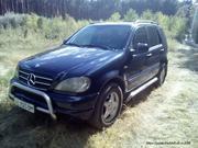 Mercedes ML320; 1999 г.;  американец;  укр. регистрация;  растаможенна100%