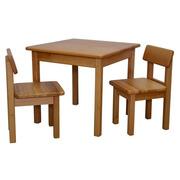 Детский столик и 2 стульчика (бук)