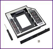 Карман-переходник Optibay для SSD / HDD вместо DVD привода для ноута