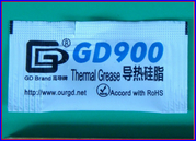 Термопаста Thermal Grease GD900 пакетик 5 г Аналог Arctic Cooling MX-2