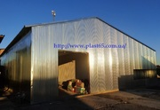 Строительство ангаров,  складов,  быстровозводимых зданий,  сооружений.