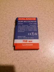 Продаю или обмен аккумулятор на Motorola V3 (BR50), новый