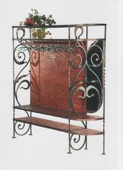 Предлагаем очень красивый и качественный набор ковки стулья, столы, вешалка