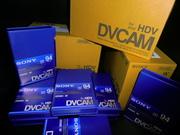 Новые запечатанные видеокассеты DVCAM HDV Sony PDV-94N/3 есть 300 штук