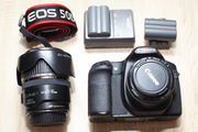 Продаю - Canon EOS 50D + 17-85 мм + 50 mm 1.8 (в подарок)