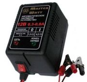 Зарядное 6/12В для аккумулятора до эхолота,  ибп,  сигнализации,  детског