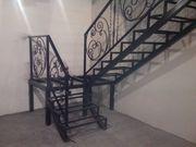 Лестницы каркасы металлические , перила, поручни