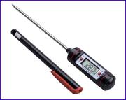 Градусник для кухни электронный .Термометр со щупом цифровой цена