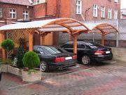 Строительство навесов для авто «под ключ» в Киеве и Киевской области