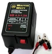Зарядные для аккумуляторов 12/6В/V до эхолота,  детского электромобиля
