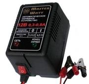 Зарядное для аккумулятора 12/6В/V до эхолота,  детского электромобиля (
