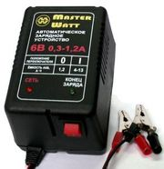 Зарядне до акумуляторів 12/6В для ехолота,  дитячого електромобіля (маш