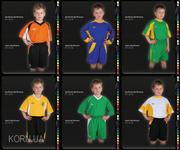 Детская футбольная форма,  на заказ футбольная форма для детей