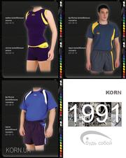 Волейбольная форма на заказ,  пошив формы для волейбола