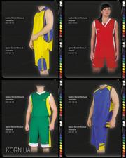 Баскетбольная форма,  пошив формы для баскетбола,  на заказ