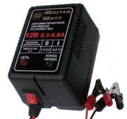 Зарядне 12/6В для акумуляторів до ехолота,  дитячого електромобіля (маш