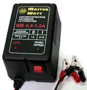 Зарядне 12V/6В для акумуляторів до ехолота,  дитячого електромобіля (ма