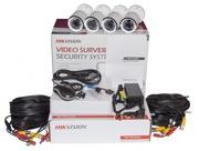 Комплект TurboHD видеонаблюдения Hikvision 1Мп