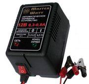 Зарядний пристрій 12V/6В для акумуляторів до ехолота,  дитячого електро