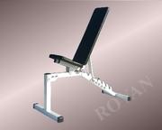 Усиленная скамья для жима Rovan белая