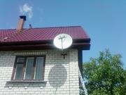 Установка тарелки спутникового тв телевидения в Киеве и обл